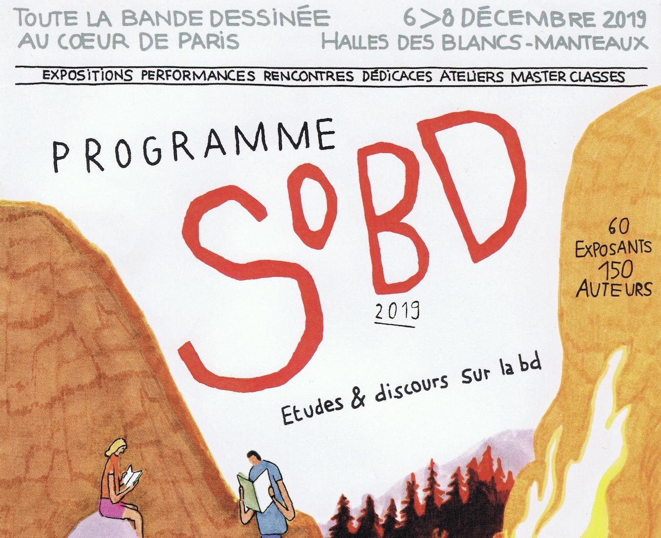 SoBD 2019 : Dominique Goblet, Jean-Christophe Menu et bande dessinée polonaise