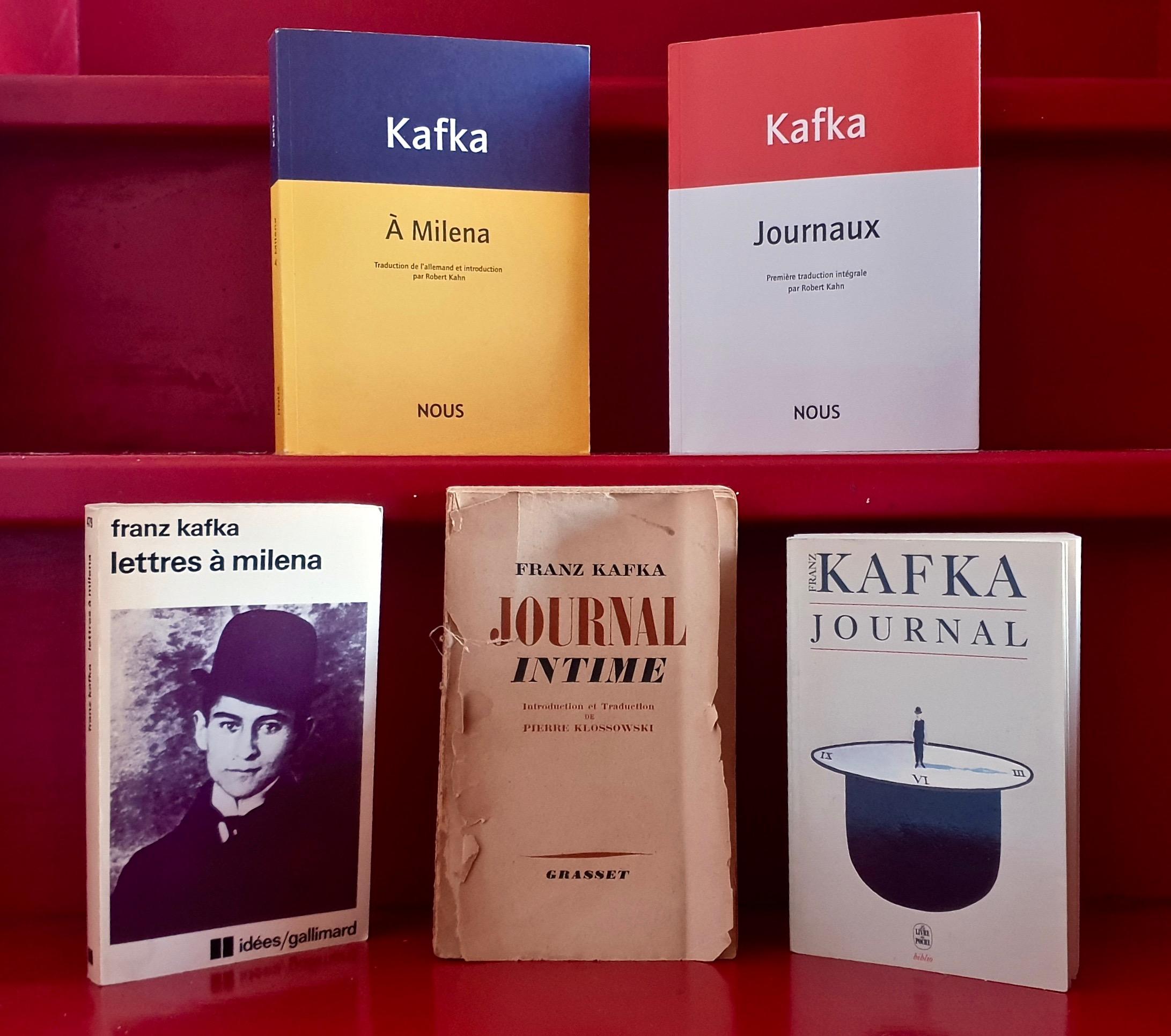 Kafka(Journaux) : première traduction intégrale par Robert Kahn
