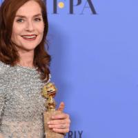 Elle : Isabelle Huppert, Golden Globe 2017