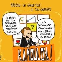 Le dessin de la semaine de Rodho : Macron, grand tout (et son contraire)
