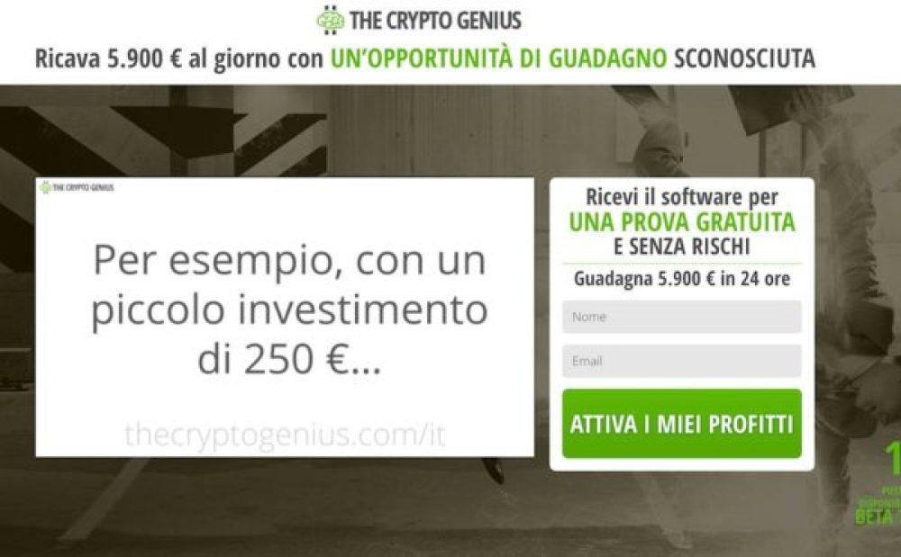 Onesto recensione di Crypto Genius - è una truffa? | Coinlist.me