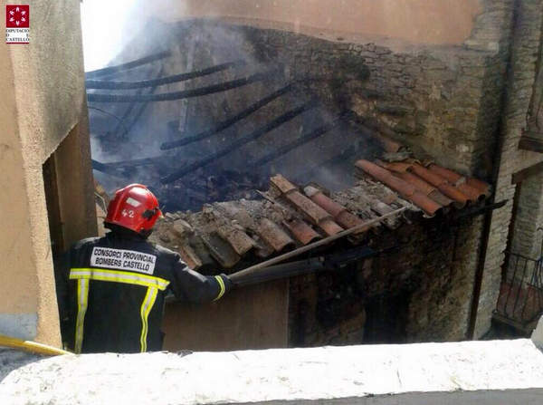 Incendi a Castellfort