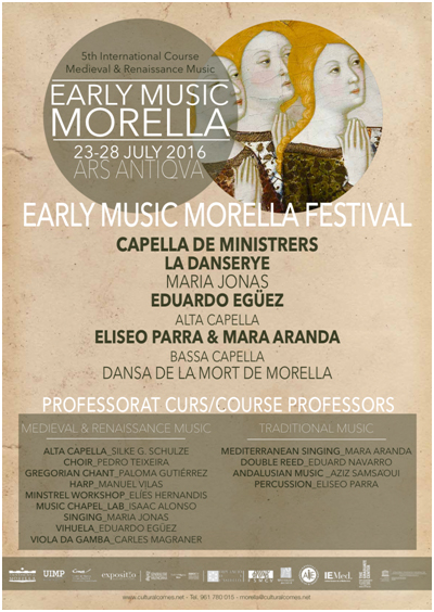 Cartell Early Music Morella
