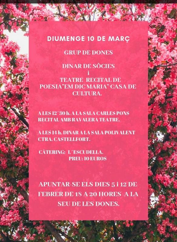 El Grup de Dones de Vilafranca