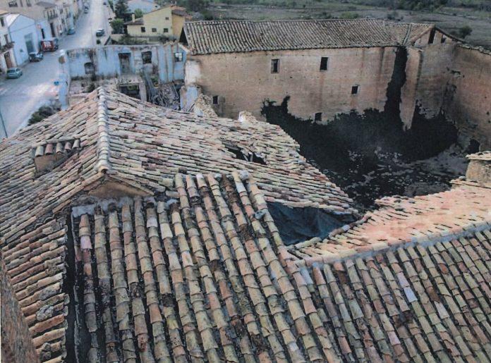 Cultura repararà la coberta de l'església del convent dels Dominicos de Forcall