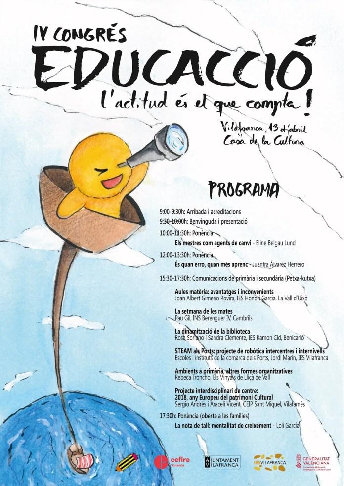 Vilafranca acull el 13 d'abril el IV EducAcció