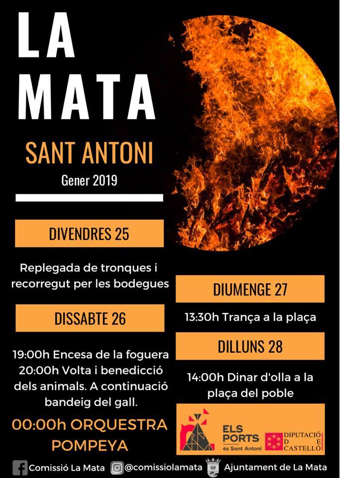 Sant Antoni La Mata 2019