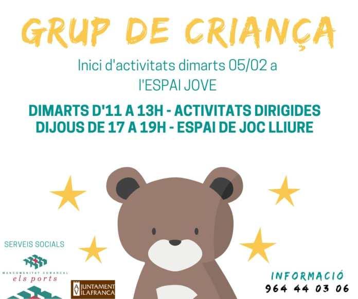 El Grup de Criança dinamitza Vilafranca