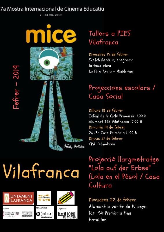 FESTIVAL CINEMA EDUCATIU VILAFRANCA
