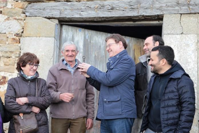 Ximo Puig assegura que l'adquisició del Penyagolosa contribueix a preservar el patrimoni de la Comunitat