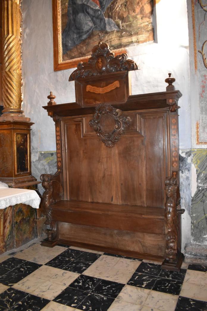 Restauran el banco de Manuel de Sada y Antillón de Tronchón