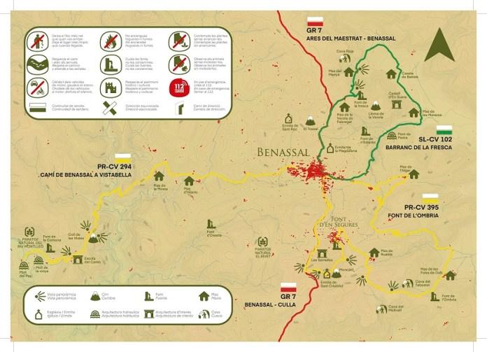 De ruta senderista per Benassal