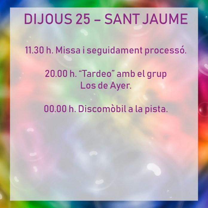 FESTES TÍRIG DIJOUS 25