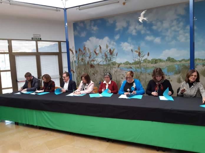 Signatura del conveni de 8 pobles del Maestrat