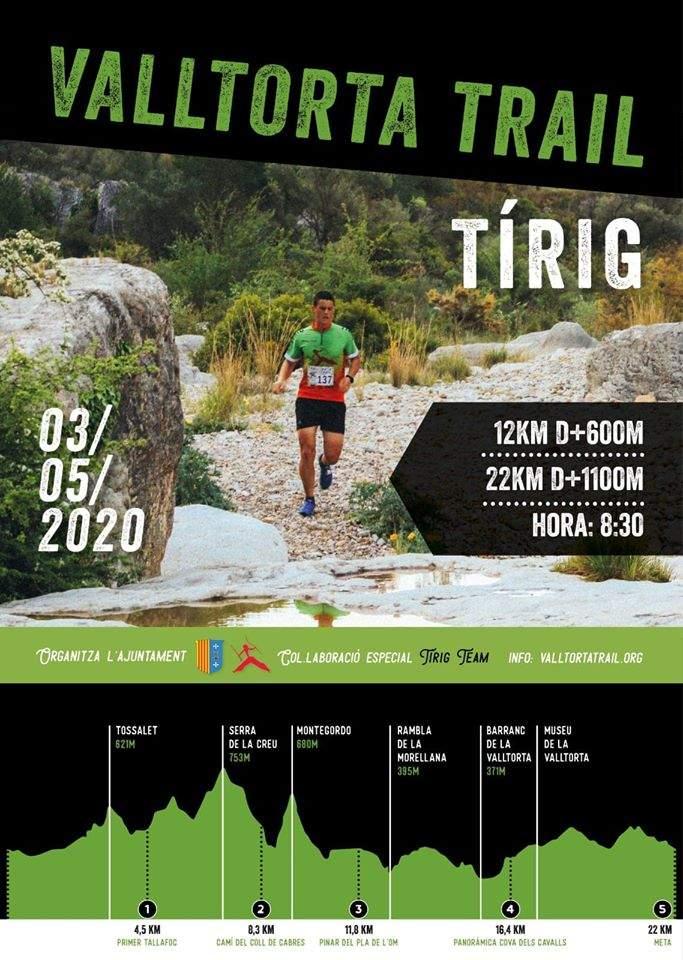 Cartell Valltorta Trail 2020