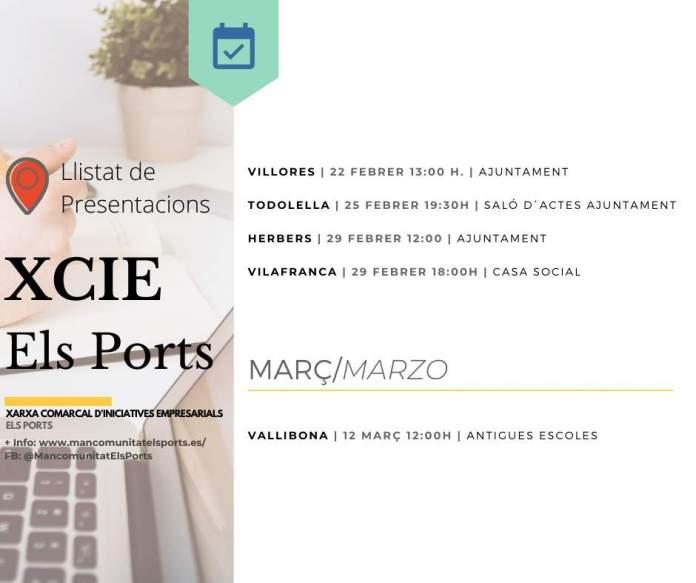 Cartes presentacions xarxa