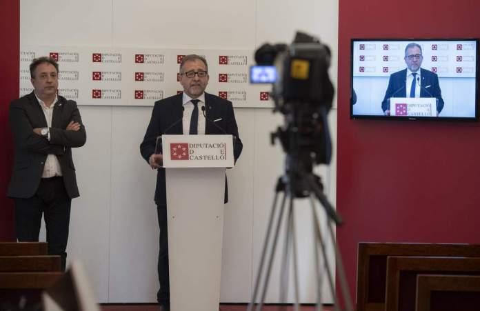 Roda de premsa del president de la Diputació