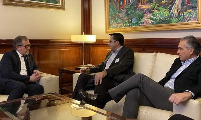 Reunió del president amb els responsables de Marie Claire