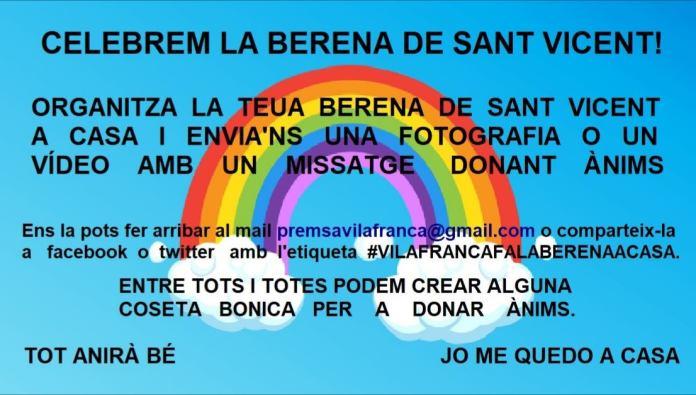 Berena de Sant Vicent a Vilafranca