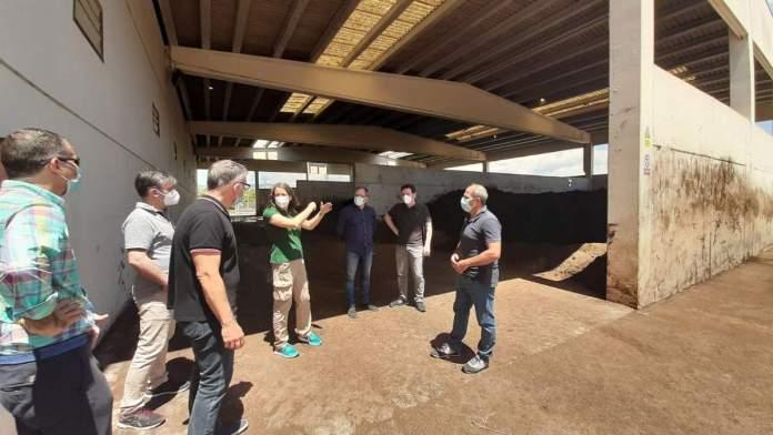 Visita a la planta de purins de la Salzadella