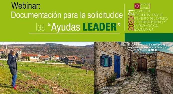 Webinar sobre la sol·licitud d'Ajudes LEADER