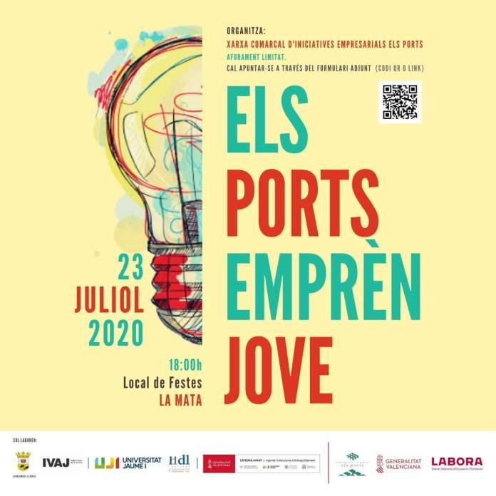 Els Ports Emprén Jove, cartell