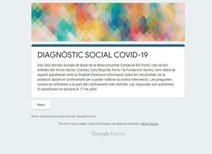 Diagnòstic social Covid-19
