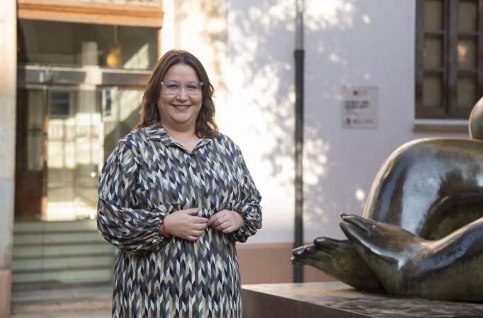 Ruth Sanz , diputada de Cultura
