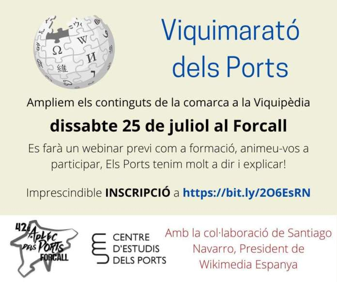Viquimarató dels Ports
