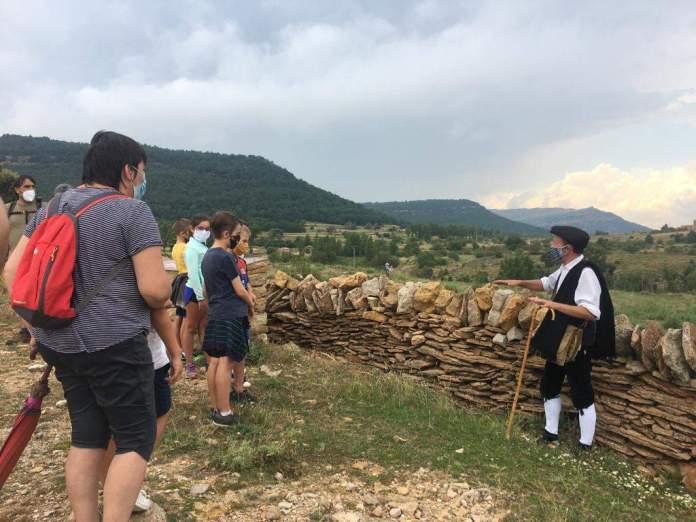Ruta treatralitzada de la pedra en sec a Vilafranca
