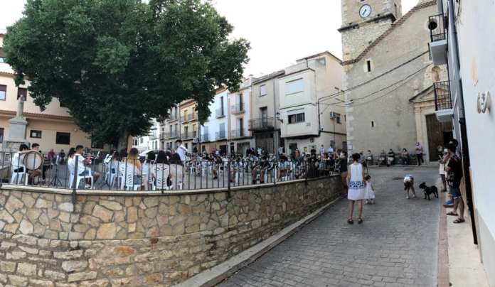 Concert a la Plaça de la Setena de Vilar de Canes