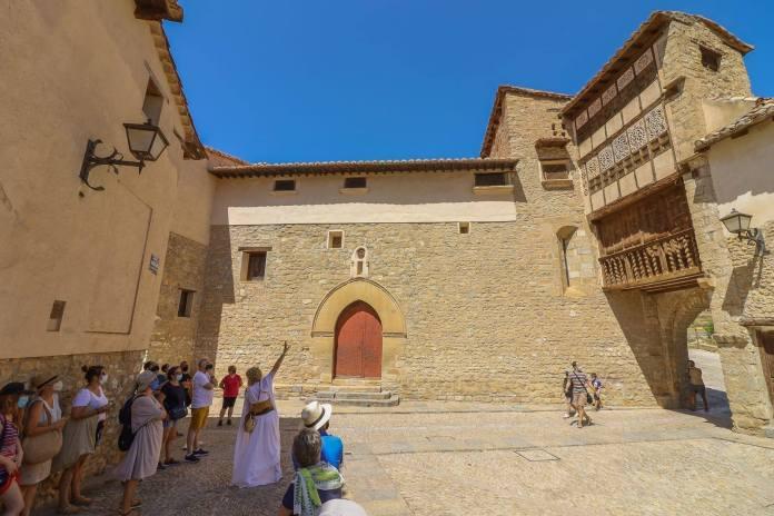 Este fin de semana, en la ruta medieval por Mirambel. Foto: Turismo Mirambel