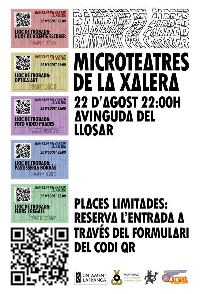 Microteatres de La Xalera a Vilafranca