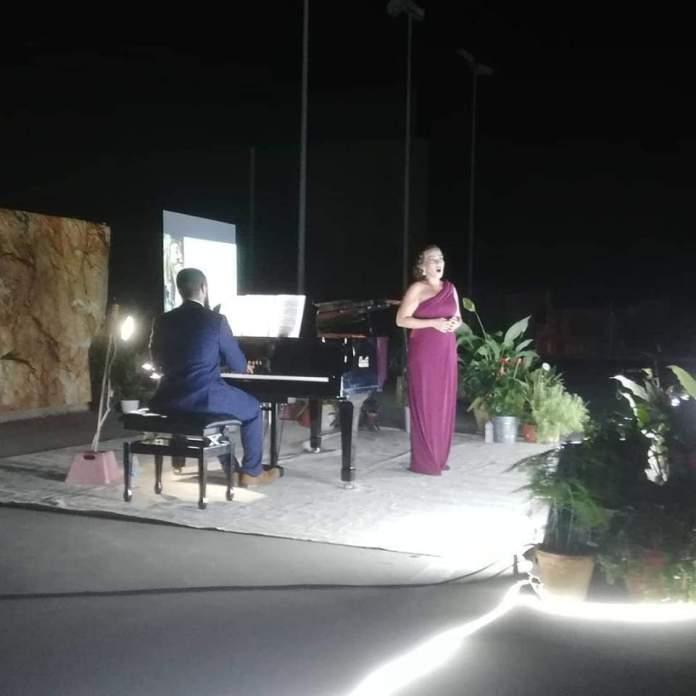 Concert de piano i veu a Tírig