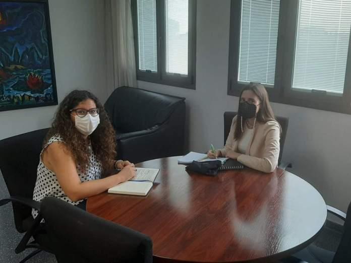 Lluïsa Monferrer ha mantingut aquesta setmana una primera reunió de contacte amb el Consell de la Joventut de Castelló