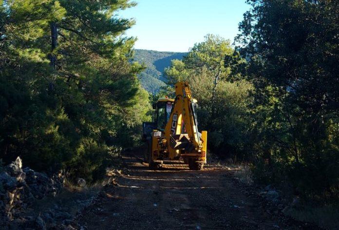 Reparació de camins a Vilafranca