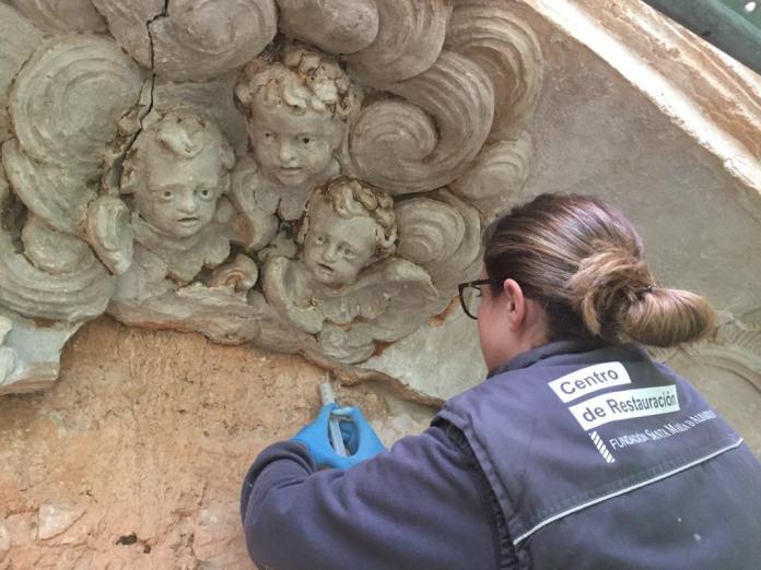 Restauración del convento servita de Cuevas de Cañart