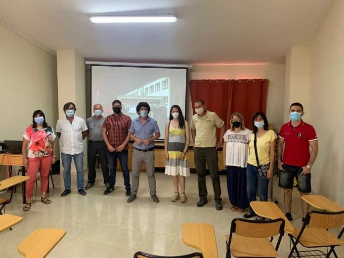Presentació del vídeo de l'Escola de Vistabella