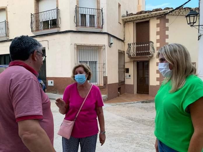 L'alcalde de Portell es reuneix amb Marta Barrachina