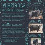 Cartell de bous a Vilafranca