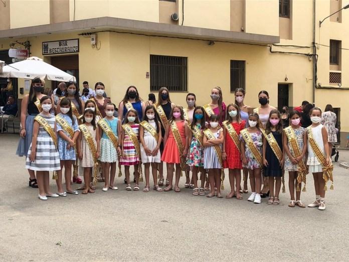 Regines i corts d'honor de les festes de Benassal