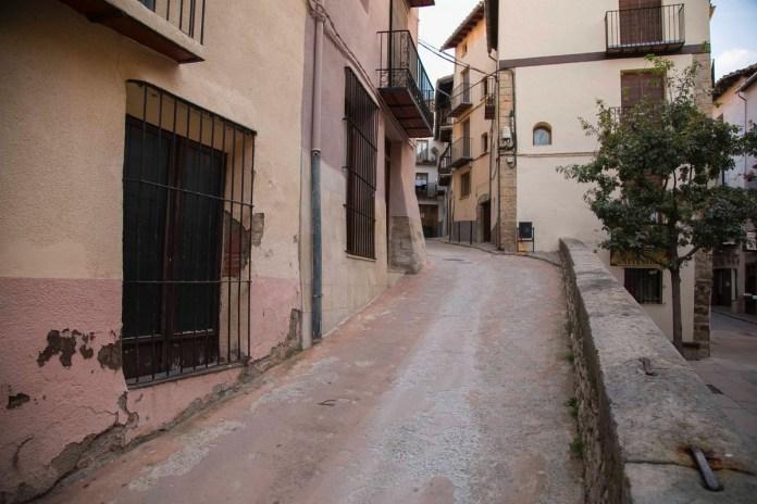 Carrer Zaporta a Morella
