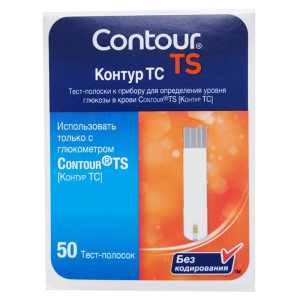 Тест-полоски Контур ТС (Contour TS) - 50 шт