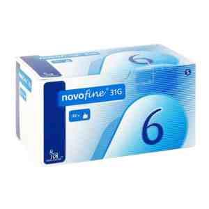 Иглы НовоФайн - 6мм (NovoFine-31G) - 100 шт