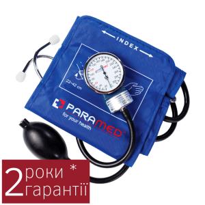 Купить тонометр механический Парамед Комфорт