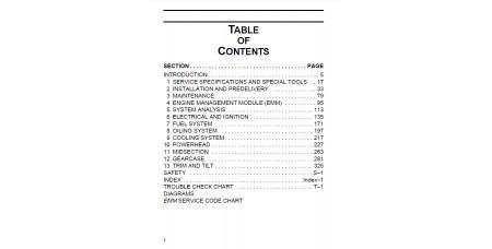 Service Manual 2007 Evinrude E-tec 200-225-250 Hp 90V6