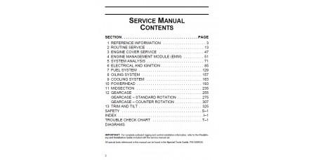 Service Manual 2011 Evinrude E-tec 115-130-150-175-200 Hp