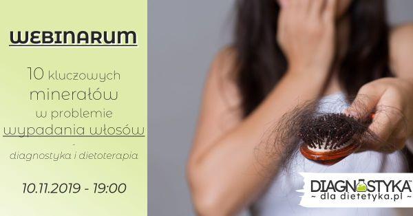 webinaria dla dietetyków — wypadanie włosów
