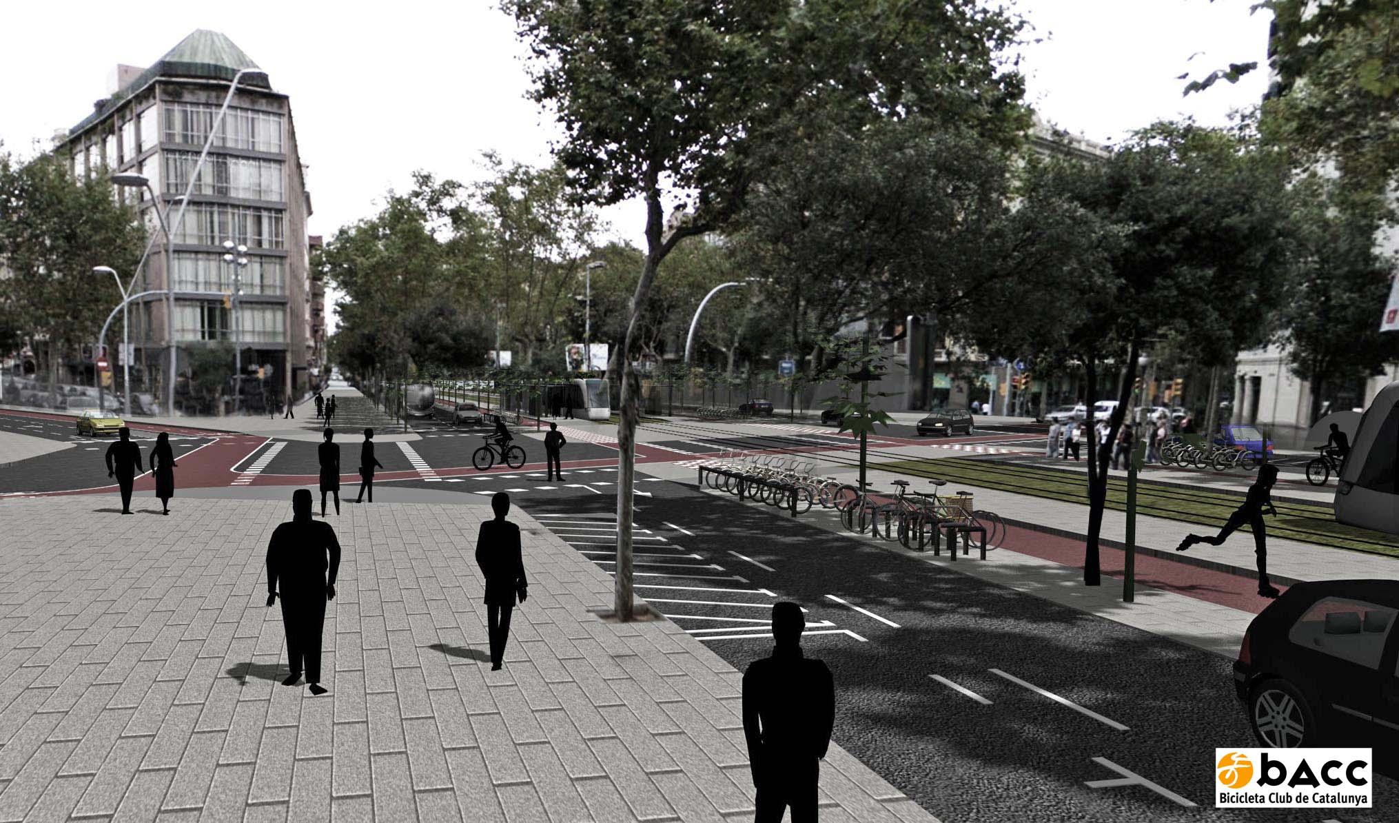 Diagonal Fotomontage