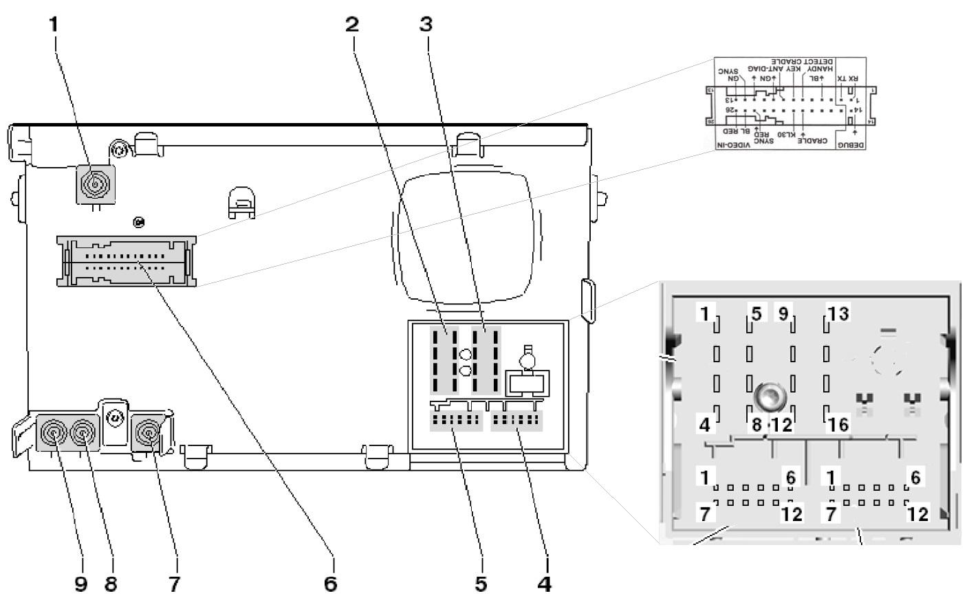 volkswagen rcd 510 wiring diagram